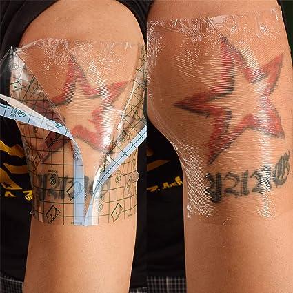 Leoie Tattoo Film 15 cm cuadrada protectora atmungsaktive Tattoo ...