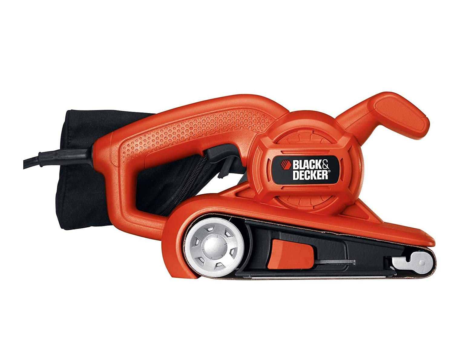 Black+Decker B/DKA86 - Lijadora de banda 75 x 457 mm Stanley Black and Decker