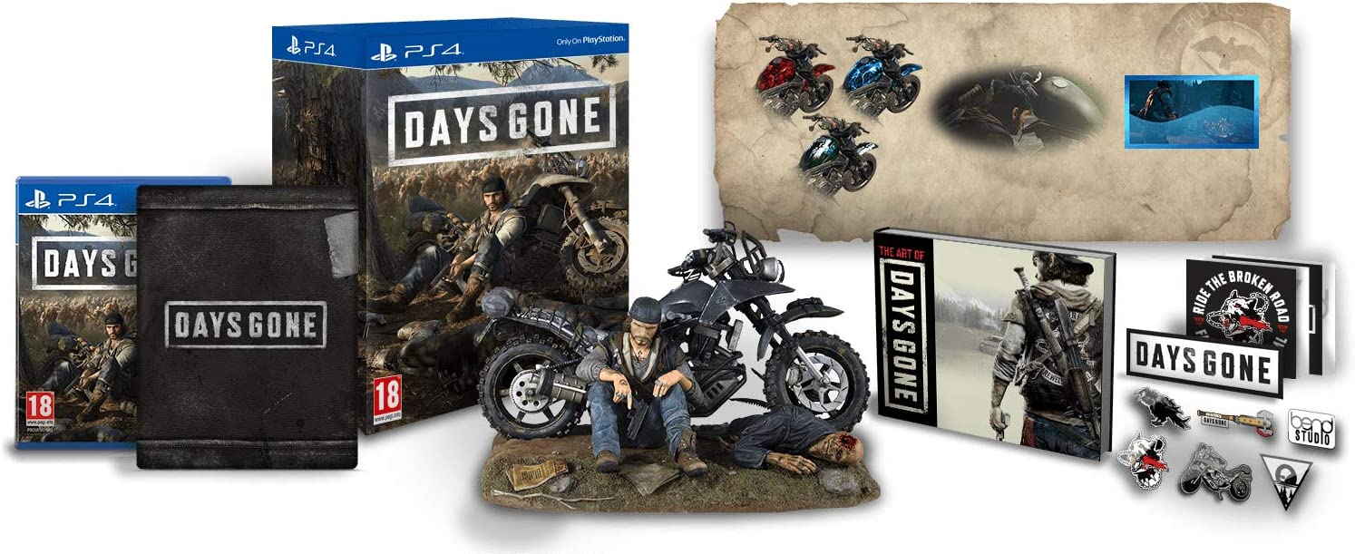 Days Gone - Collectors Edition - PlayStation 4 (Italian Edition ...