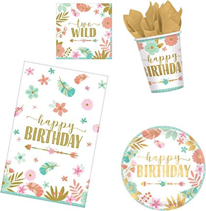 Celebrate USA Napkins 2ply paper Party Birthday Tableware Disposable food