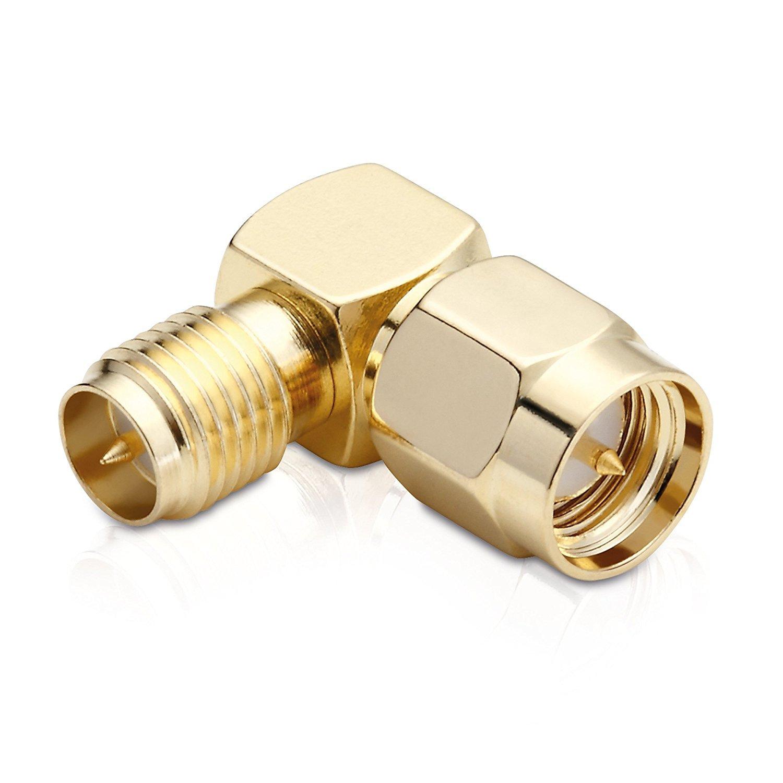adaptare 60316 Adattatore WLAN RP-TNC Senza Pin//RP-SMA con Pin