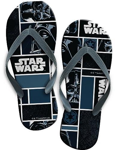 d1d506197fadc9 Bee-Square Star Wars Flip Flop Zehentreter mit Tollem Darth Vader - Motiv