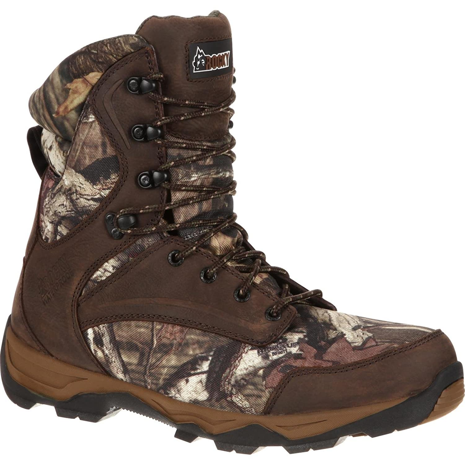 "Rocky Men's 8"" Retraction Waterproof Insulated Outdoor Boot-RKS0203 (W9.5)"