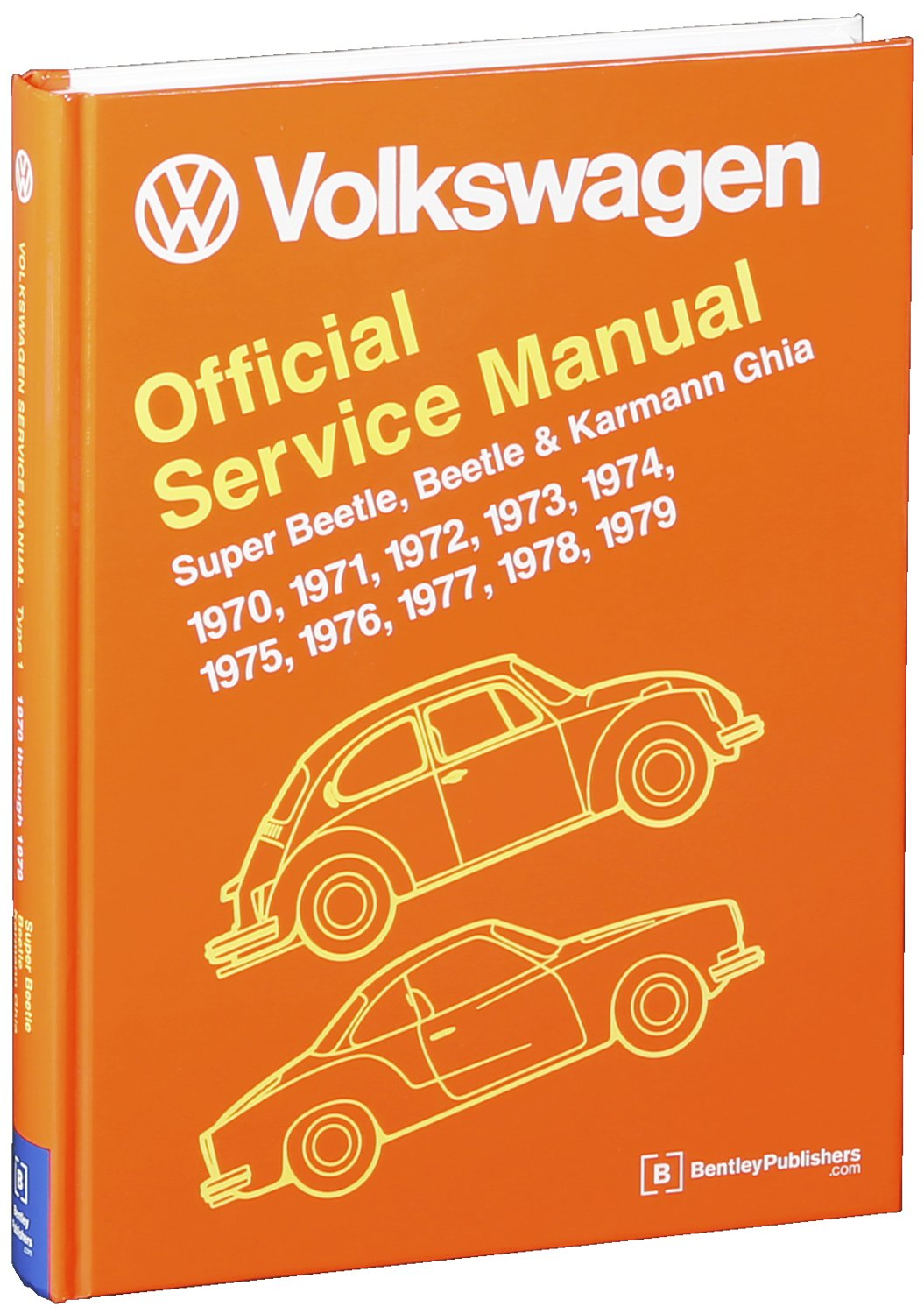 Volkswagen Super Beetle Karmann Ghia Type 1 Official Wiring Diagram In Addition 74 Vw Service Manual 1970 1971 1972 1973 1974 1975 1976 1977 1978 1979