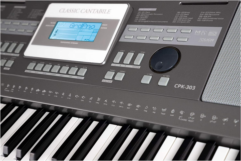 Classic Cantabile CPK-303 teclado: Amazon.es: Instrumentos ...