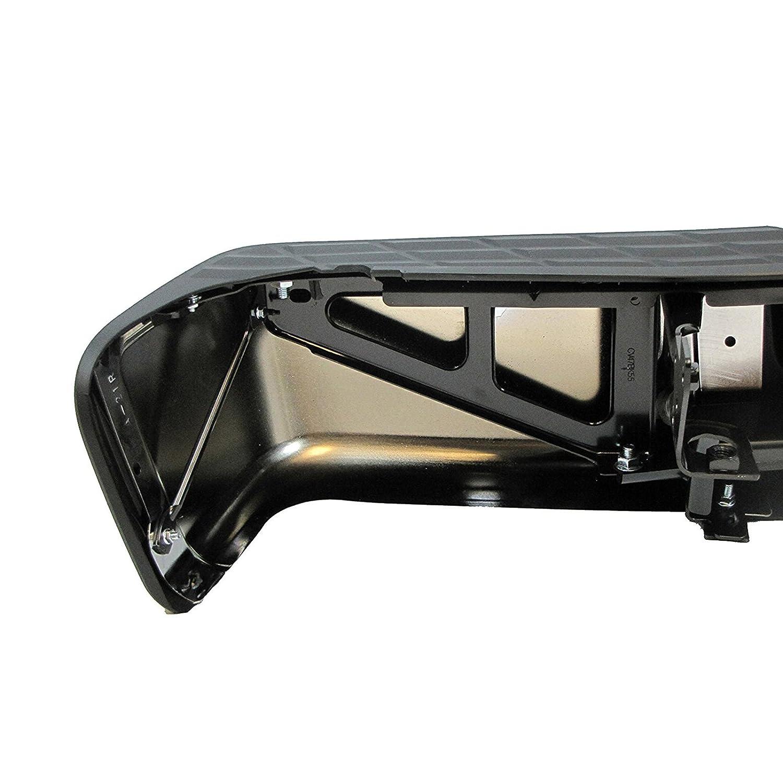 Rear Bumper Assembly for 2007-2013 Chevy Silverado /& GMC Sierra 1500 Pickup Chrome Steel MBI AUTO GM1103148