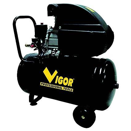 Vigor Vca-50L - Compresor, 230 V, 1 Cilindro, De Accionamiento Directo