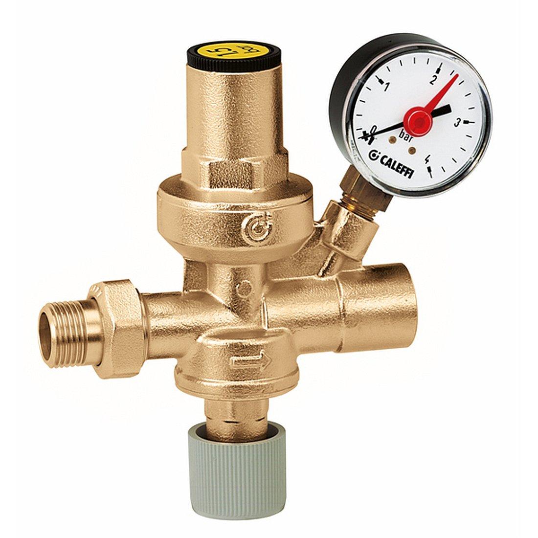 "Caleffi Automatic Filling Unit 1/2"" with Pressure Gauge 553140"
