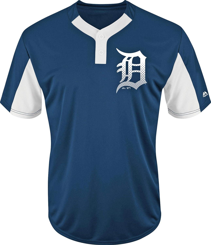 Majestic Detroit Tigers Premier Eagle Cool Base Men's 2-Button Jersey