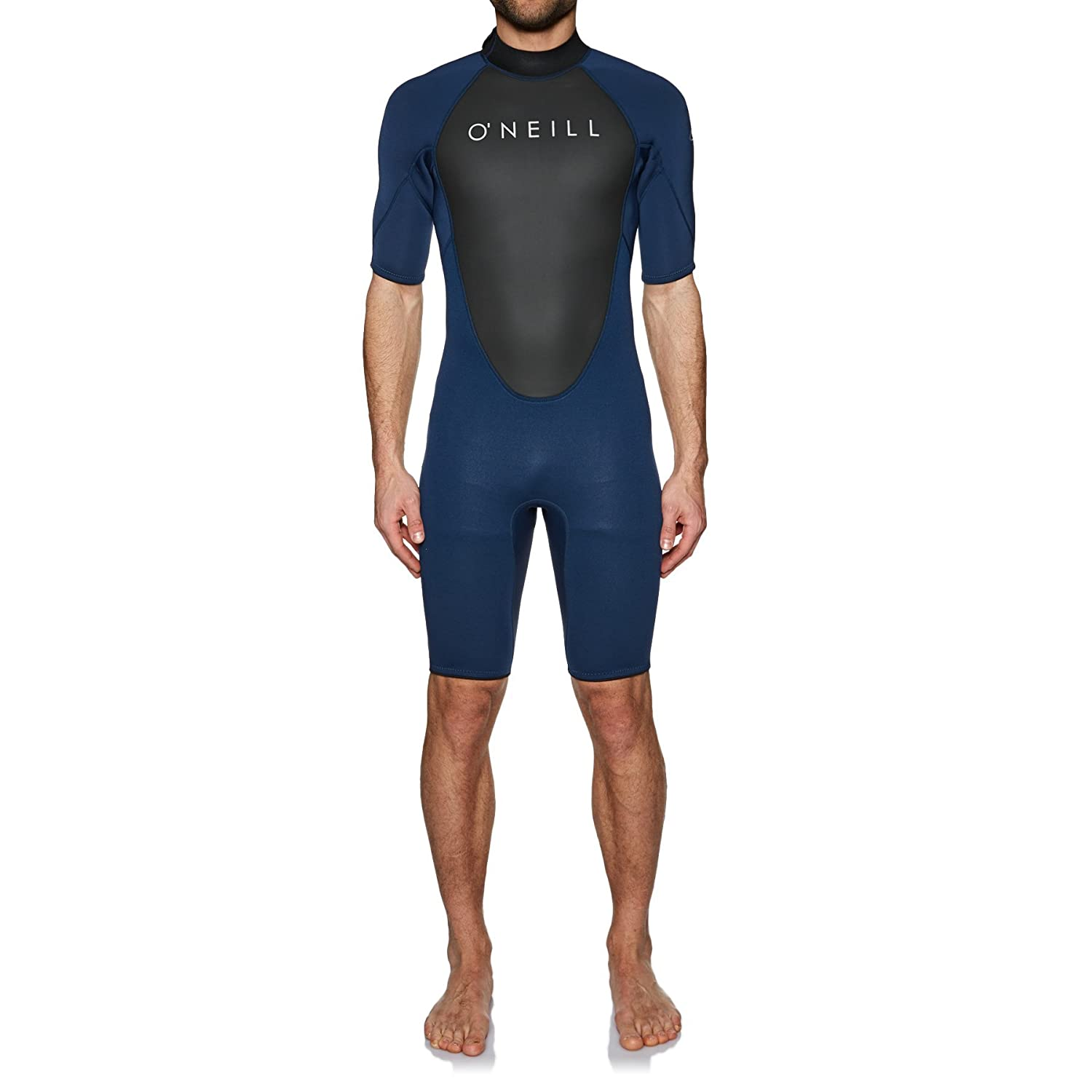 52eb27fd26 O Neill Reactor Ii 2MM Back Zip Shorty Wetsuit Wetsuit Navy  Amazon.co.uk   Sports   Outdoors