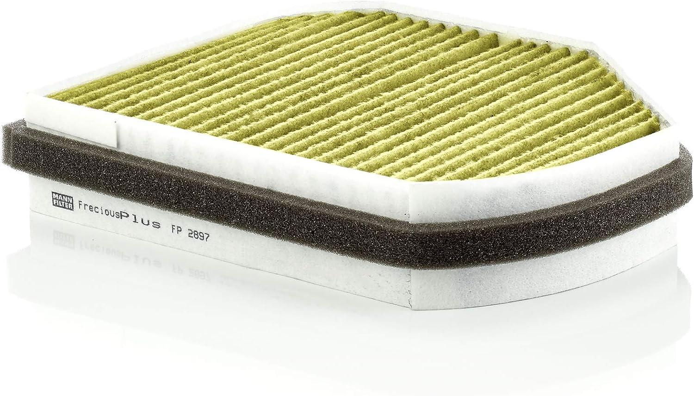 Original Mann Filter Innenraumfilter Fp 2897 Freciousplus Biofunktionaler Pollenfilter Für Pkw Auto
