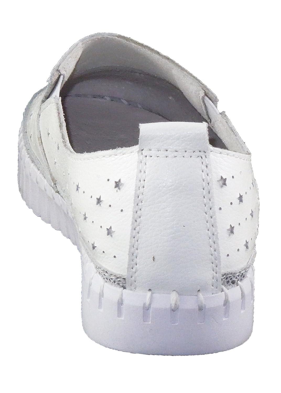 Bernie Mev TW40 Women's Slip On B01LERPLSS 10.5 B(M) US White