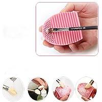 Malloom® Professionale Contorno Piatto Fard Pennello Cosmetico Rossore Kabuki Strumento Cosmetici Pennello Trucco (Rosa)