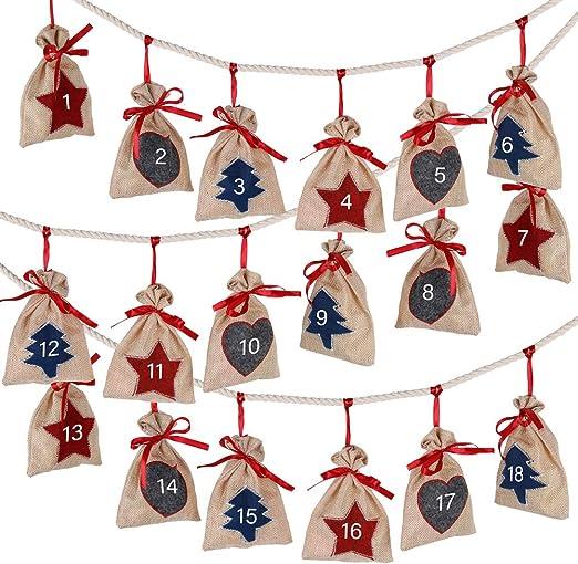 2020 Christmas Candy Countdown Calendar Amazon.com: D FantiX Christmas Advent Calendar 2020, 24 Days