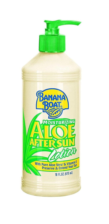 Banana Boat Aloe Vera Sun Burn Relief Sun Care After Sun Lotion, 16 Ounce + FREE Old Spice Deadlock Spiking Glue, Travel Size, .84 Oz