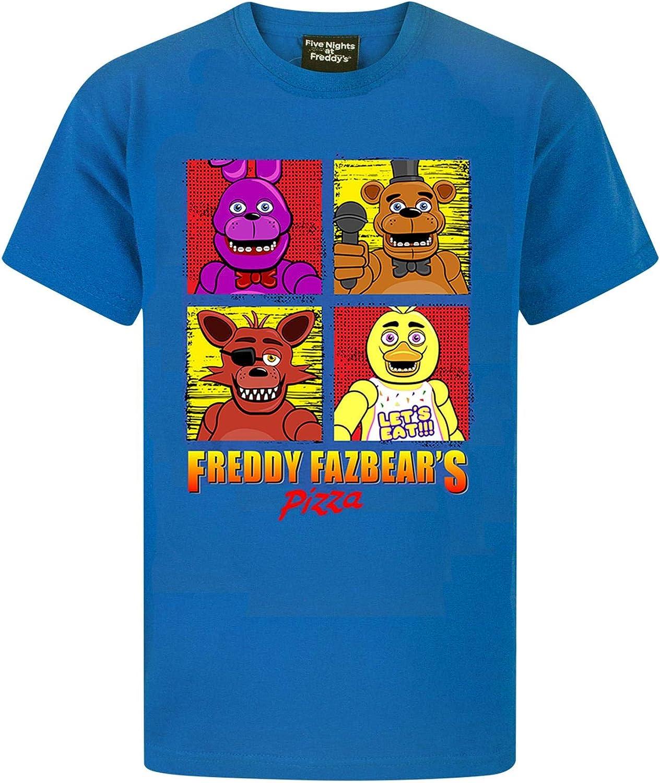 FIVE NIGHTS AT FREDDYS Panels Boys T-Shirt