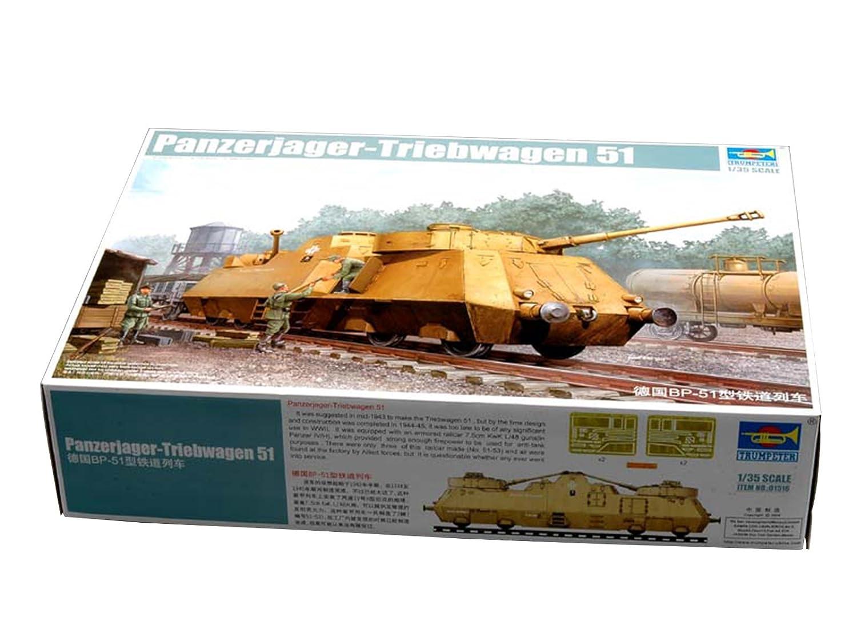 Trumpeter 1 /35 01516 panzerjager-triebwagen 51 B07CPRCDP6