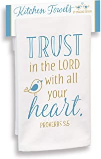 product image for Imagine Design Trust in The Lord with All Your Heart Towel, Multi