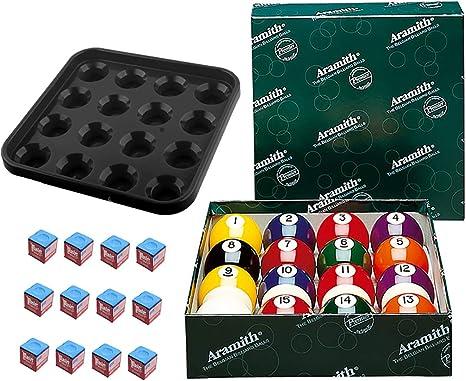 Aramith Premier - Juego de Bolas de Billar (12 Unidades), Color ...