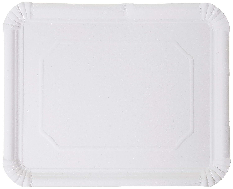 Medio 42X34 Cm Bianco Cartone 50 unit/à Garcia de Pou Vassoi Cartone Pasticceria