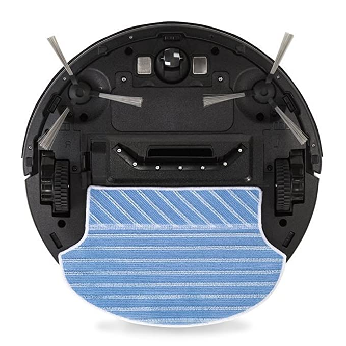 Novohogar Robot Aspirador 4en1 Water Clean. Barre, Aspira, Pasa la Mopa y Friega. Programable y Auto Recargable