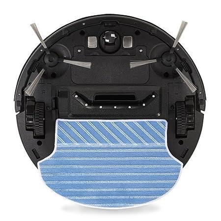 Novohogar Robot Aspirador 4en1 Water Clean. Barre, Aspira, Pasa la Mopa y Friega. Programable y Auto Recargable: Amazon.es: Hogar