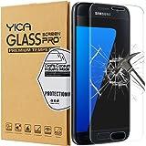 Samsung Galaxy S7 Pellicola Protettiva, Yica Galaxy S7 Completo Copertura Galaxy S7 in Vetro Temperato Crystal Clear Pellicola Protettiva Ultra Resistente in Vetro Temperato per Samsung Galaxy S7