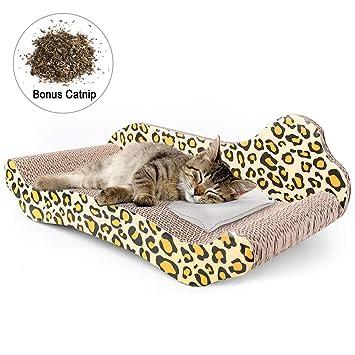 Amazon.com: PrimePets - Sillón rascador para gatos, con ...