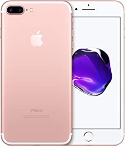 Apple iPhone 7 Plus, 128GB, Rose Gold for T-Mobile (Renewed)