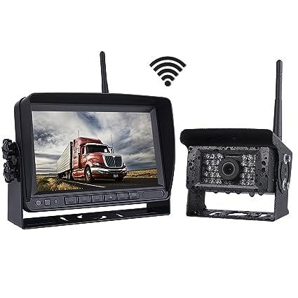 Amazon.com: SVTCAM SV-KT03 Digital Wireless Backup Camera Systems ...