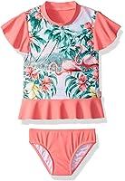 Seafolly Little Girls' Rash Guard Set Swimsuit