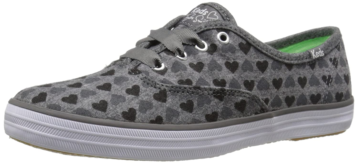 Keds Women's Taylor Swift Champion Hearts Fashion Sneaker B00MBZ9OCC 5 B(M) US|Charcoal
