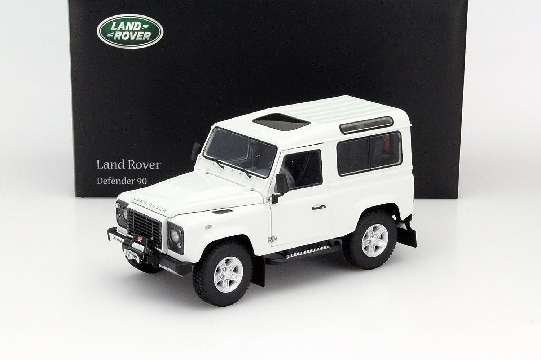 Kyosho 1/18 Scale diecast - 08901FW Land Land Land Rover Defender 90 Fuji Weiß 8dadbf