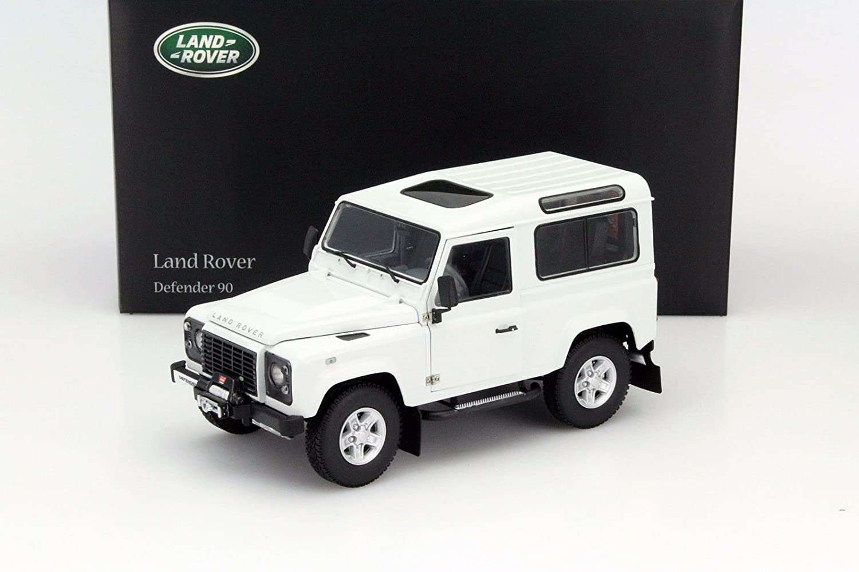 Kyosho 1/18 Scale diecast - 08901FW Land Rover Defender 90 Fuji Weiß