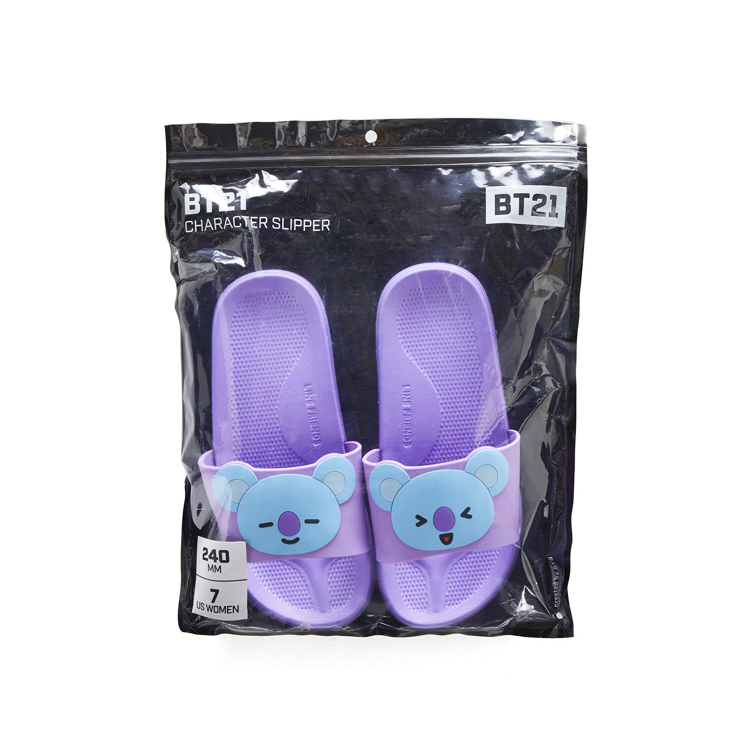 Amazon.com   BT21 Official BTS Merchandise by Line Friends - Character PVC Indoor House Slippers (Designed by Bangtan Boys)   Slippers