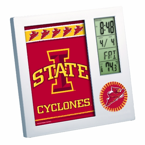 Iowa State Desk (NCAA Iowa State Cyclones Digital Desk Clock)