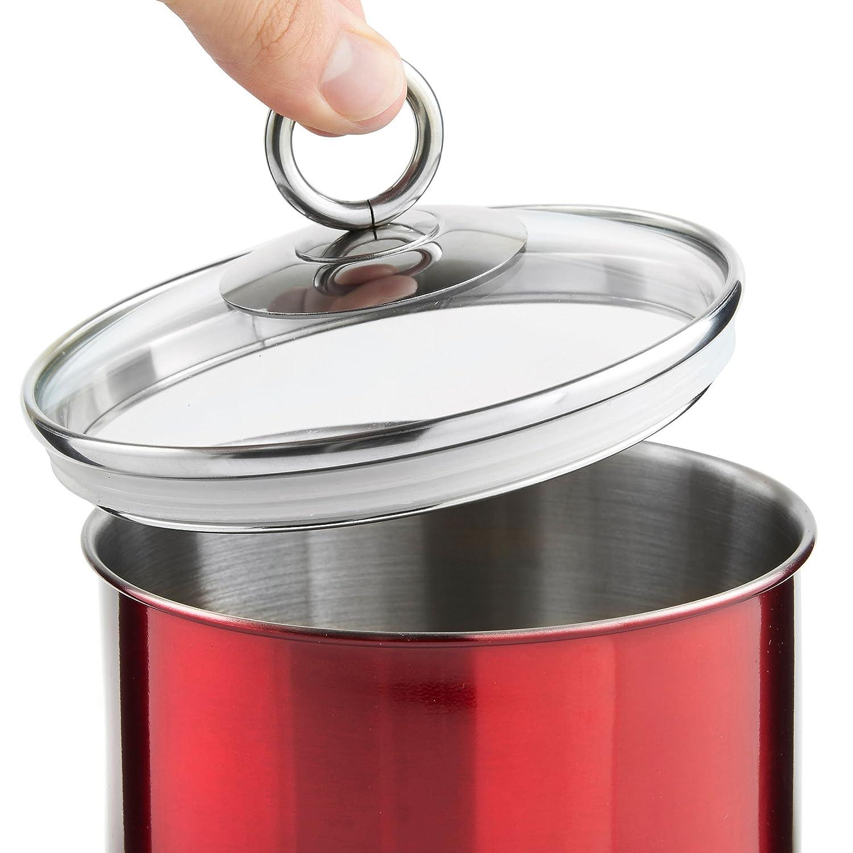 vonshef set of 3 tea coffee u0026 sugar canisters kitchen storage
