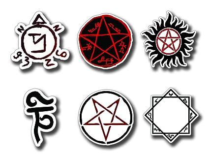 Amazon Supernatural Protection Symbols Angel Banishing