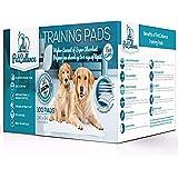 100 Empapadores Perros Cachorros Mascotas | 6 Capas Super Absorbentes Protegen Pisos Y…