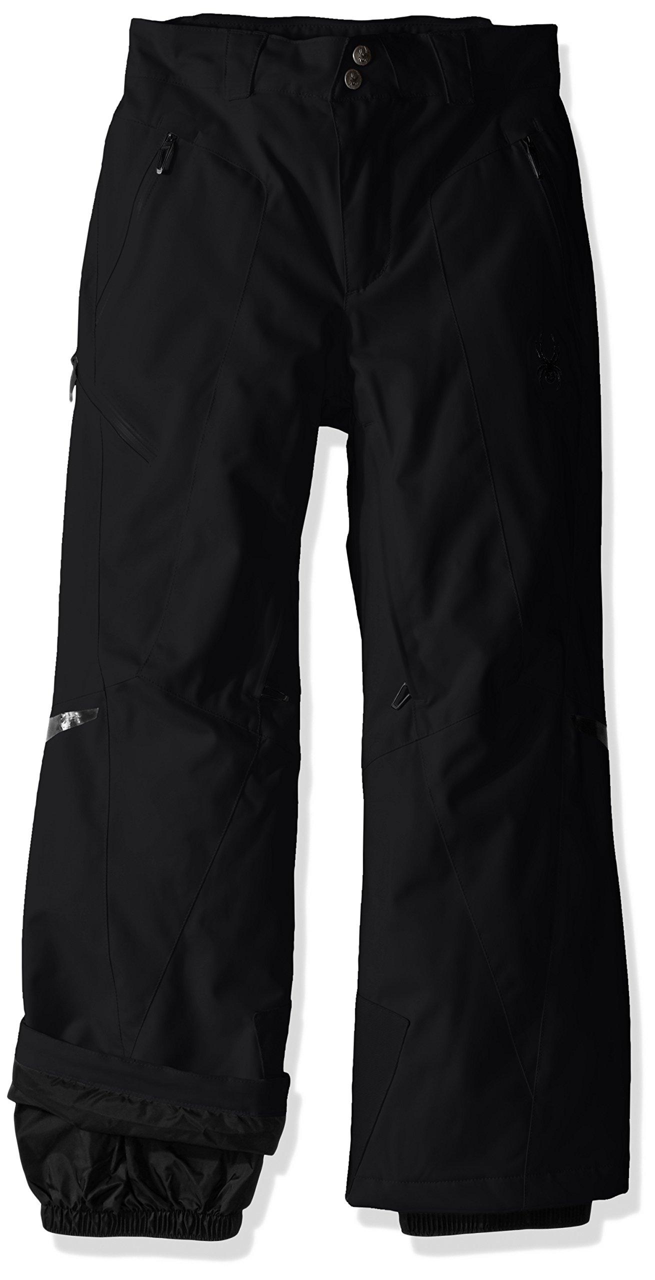 Spyder Boys Bormio Pants, Size 16, Black