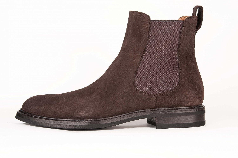 cab8c6e21e6816 Lendvay   Schwarcz Schuh Herren Chelsea Boot braun - 41  Amazon.de  Schuhe    Handtaschen