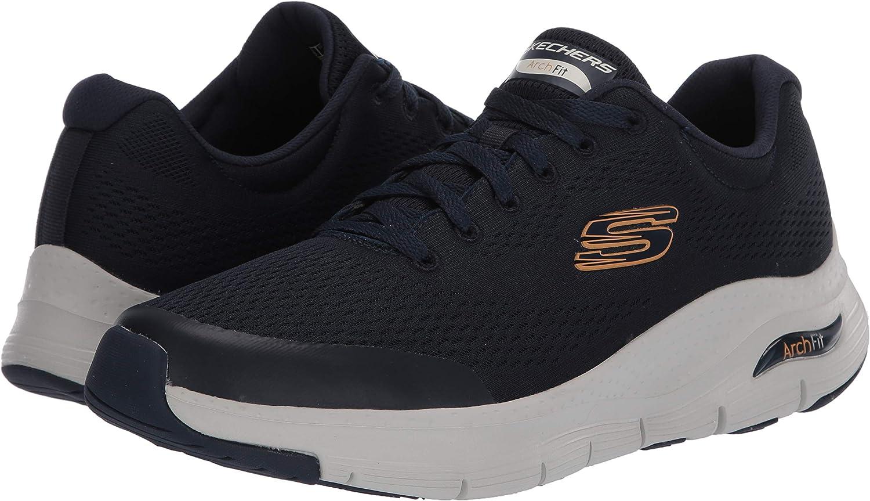 Skechers Herren Arch Fit Sneaker, blau: : Schuhe xCCks