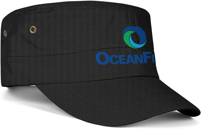 SU8TD Men Women Hats OceanFirst Financial Logo Snapback Military Cap Trucker Hat Rugged Caps