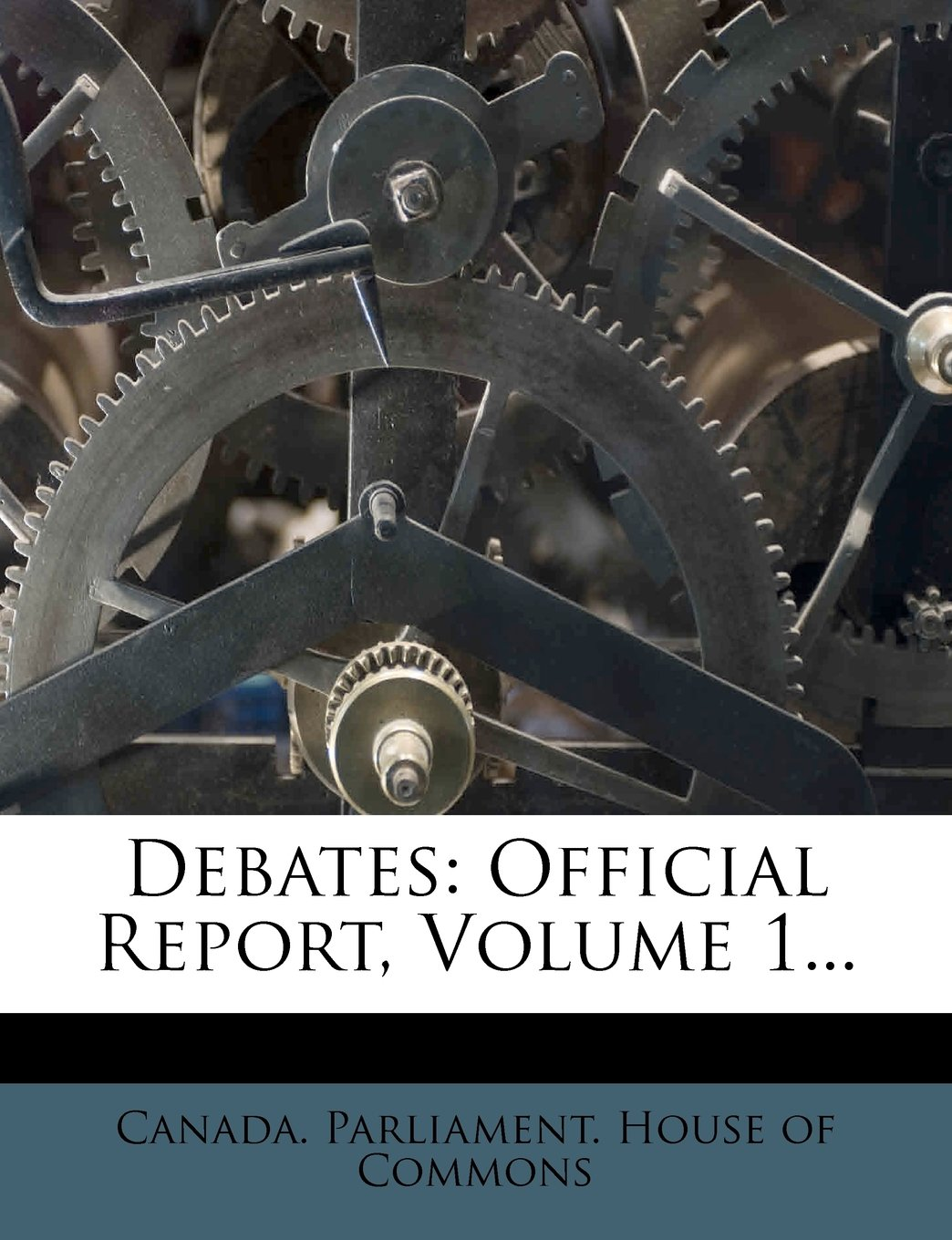 Download Debates: Official Report, Volume 1... PDF