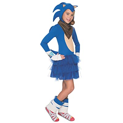 Rubie's Sonic Boom Girl's Costume, Large: Toys & Games