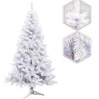 Hengda® Albero albero di albero di Natale artificiale unico albero deco albero con albero verde albero abete