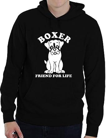 Boxer Dog Lover Adult Ladies Mens Hoodie  Birthday Gift Idea Size S-XXL