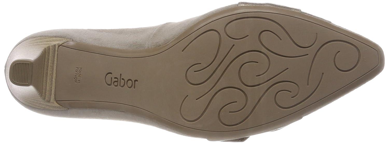 Gabor Damen Damen Gabor Basic Pumps Braun (Visone/Mutaro) 1b2329