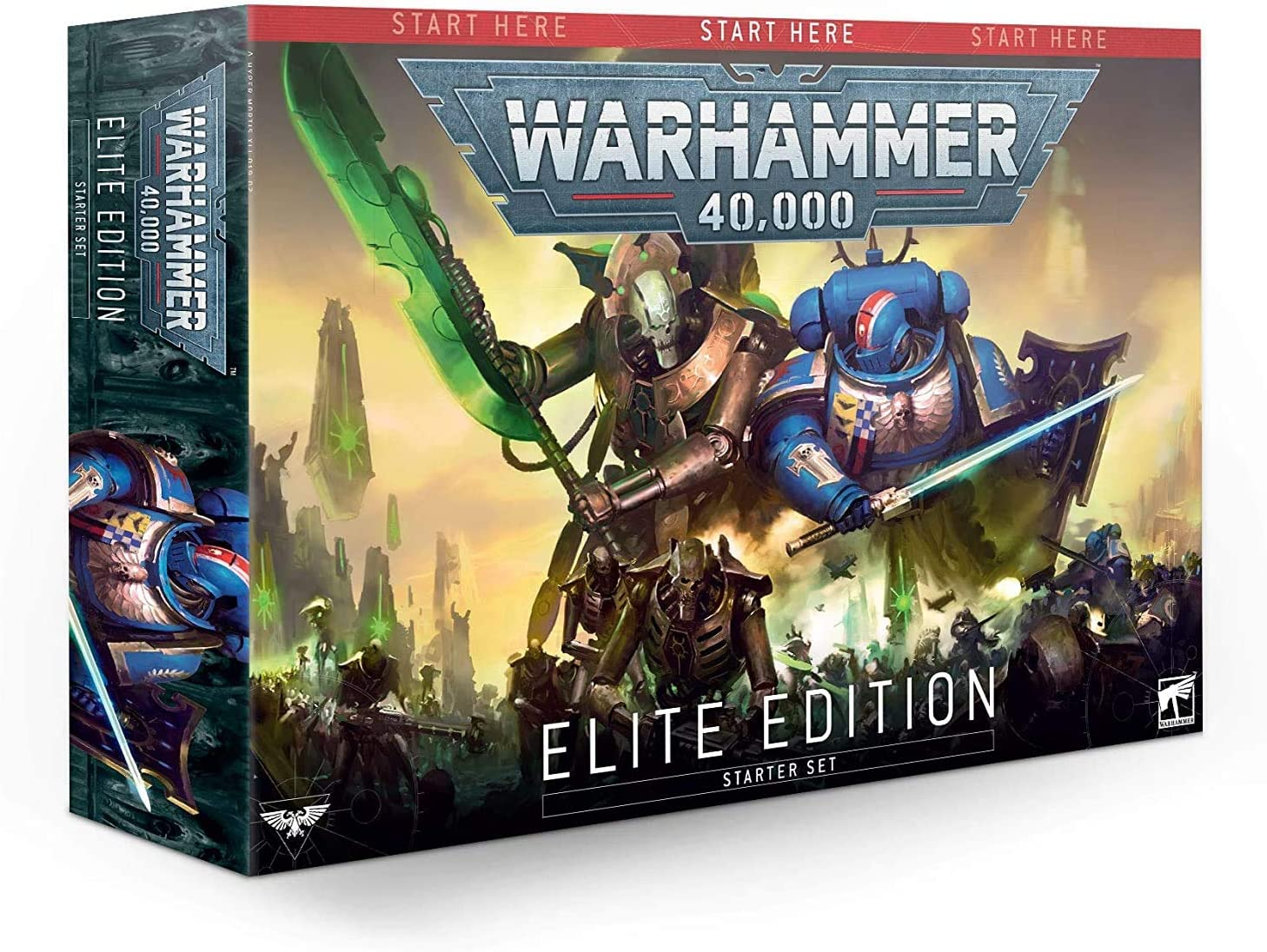 Games Workshop Warhammer 40,000 Elite Edition Starter Set: Amazon.es: Juguetes y juegos