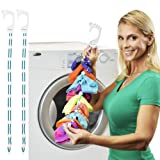 Amazon Price History for:SockDock 2 pack Sock Organizer, Easy Clips & Locks Paired Socks without Ties, Bags or Dividers for Laundry